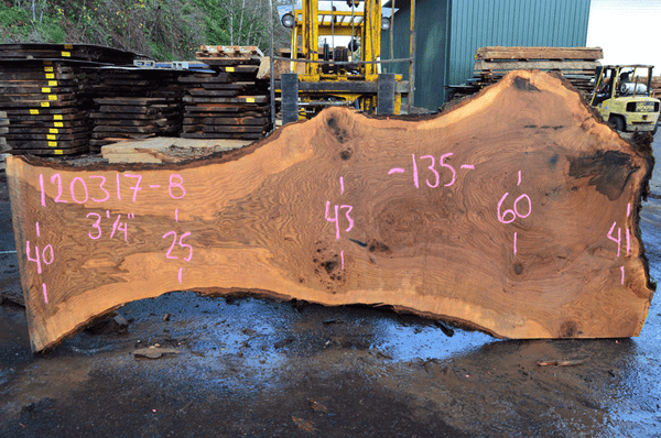 Oregon Red Oak Slab 120317-08