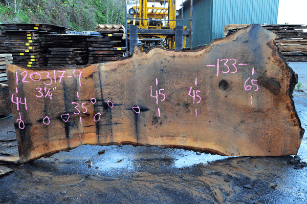 Oregon Red Oak Slab 120317-09