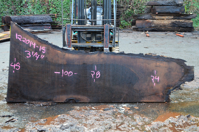 Oregon Black Walnut Slab 122014-15