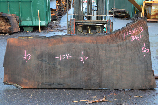 Oregon Black Walnut Slab 122014-03