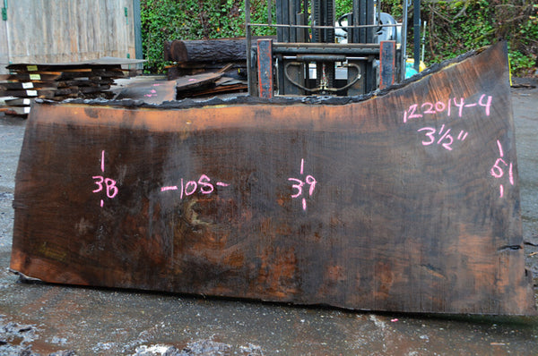 Oregon Black Walnut Slab 122014-04