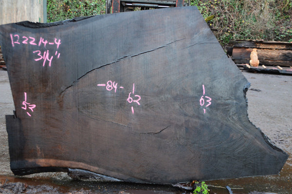 Oregon Black Walnut Slab 122214-04
