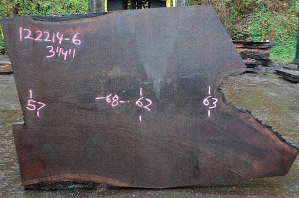Oregon Black Walnut Slab 122214-06