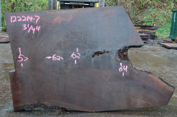 Oregon Black Walnut Slab 122214-07