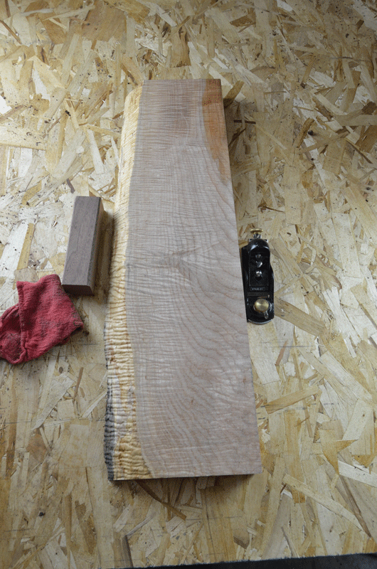 Big Leaf Maple Board B3904