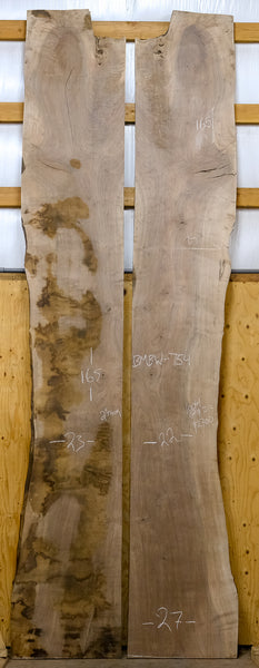 Oregon Black Walnut Bookmatch BMBW-754