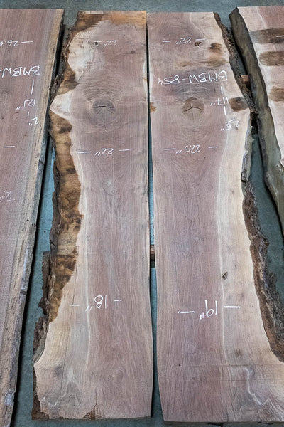 Oregon Black Walnut Bookmatch BMBW-854