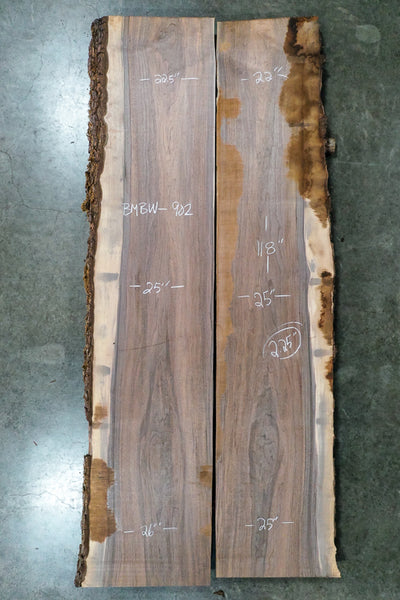 Oregon Black Walnut Bookmatch BMBW-902
