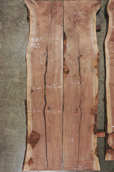 Oregon Black Walnut Bookmatch BMBW-925