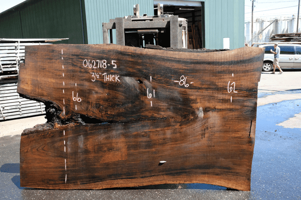 Oregon Black Walnut Slab 062718-05
