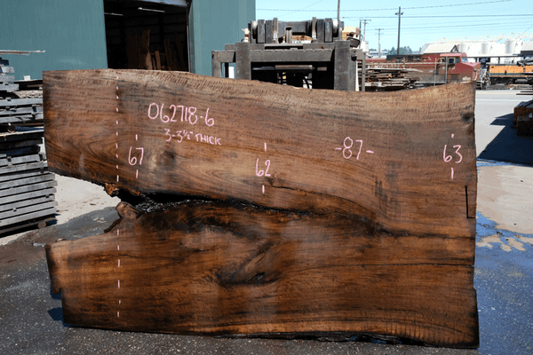 Oregon Black Walnut Slab 062718-06