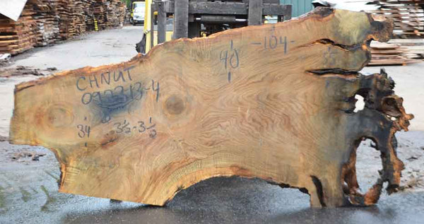 Chestnut Slab 092213-04
