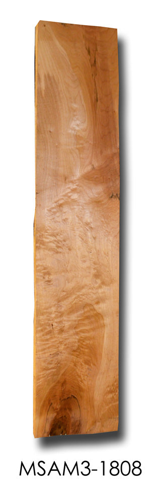 Big Leaf Maple Acoustic Guitar Side Billet MSAM3-1808