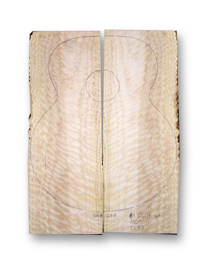 Big Leaf Maple Acoustic Guitar Set MSAM-2375
