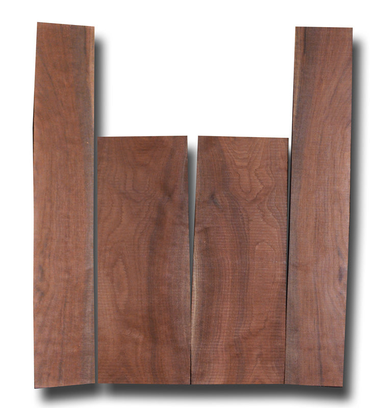 Oregon Black Walnut Acoustic Guitar Set MSAW2-2363