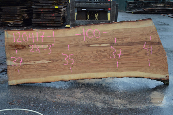 Red Oak Slab 120417-01