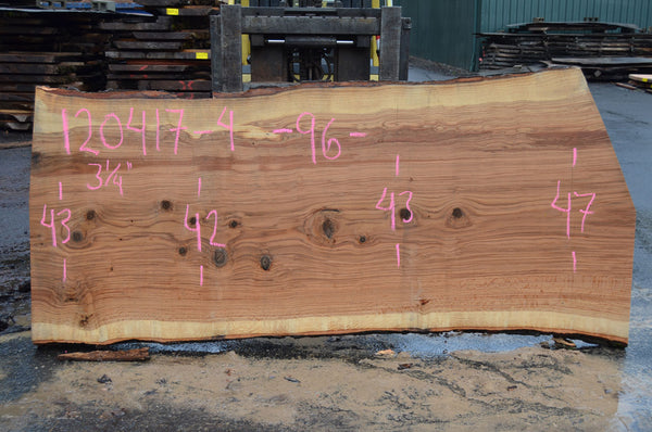 Red Oak Slab 120417-04