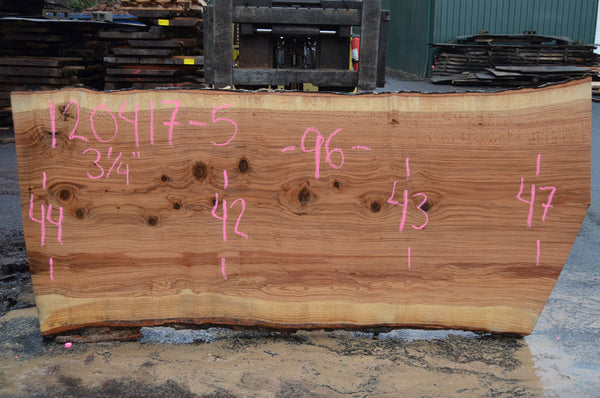 Red Oak Slab 120417-05