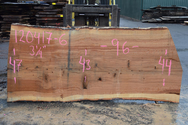 Red Oak Slab 120417-06