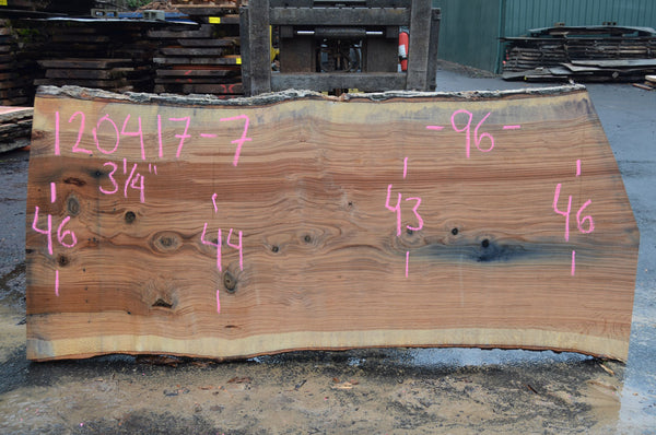 Red Oak Slab 120417-07