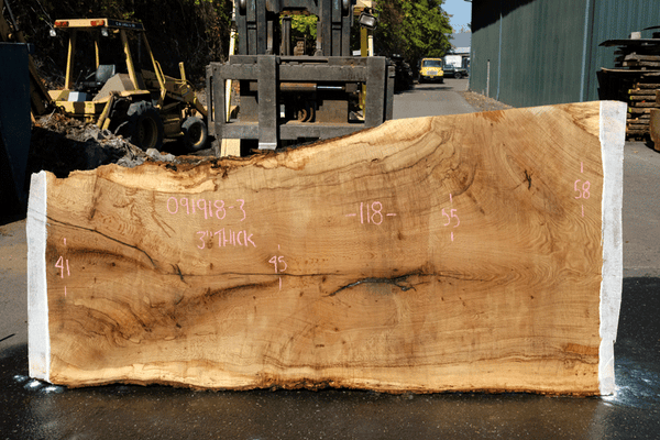 Oregon White Oak Slab 091918-03