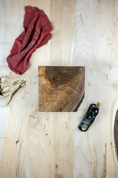 English Walnut Turning Block TB-1078