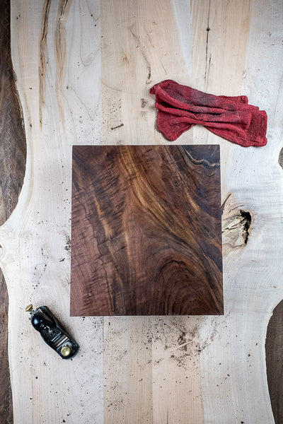 Oregon Black Walnut Turning Block TB-1111