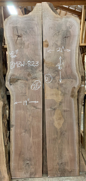 Oregon Black Walnut Bookmatch BMBW-823