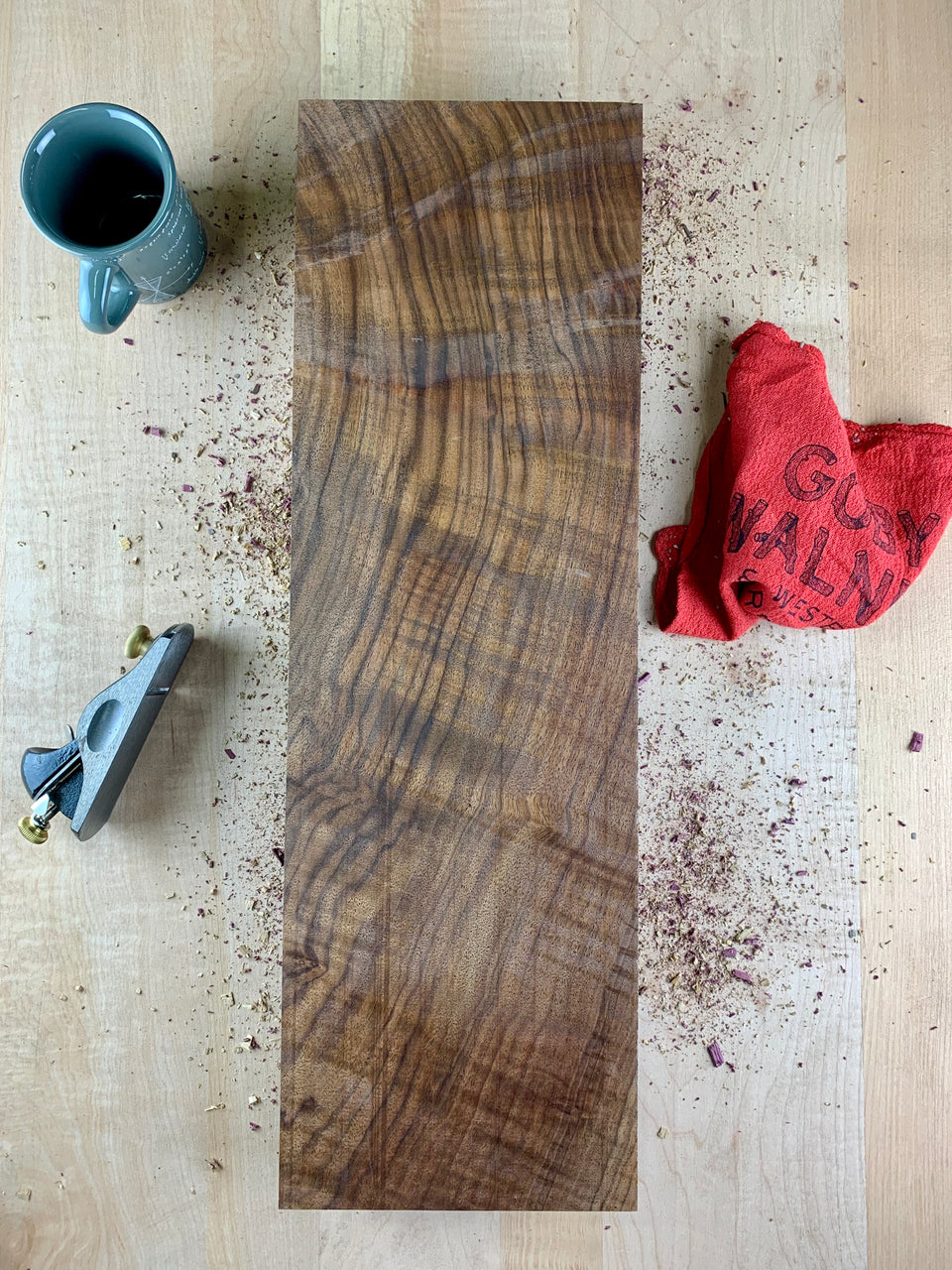 Oregon Black Walnut Board B3749