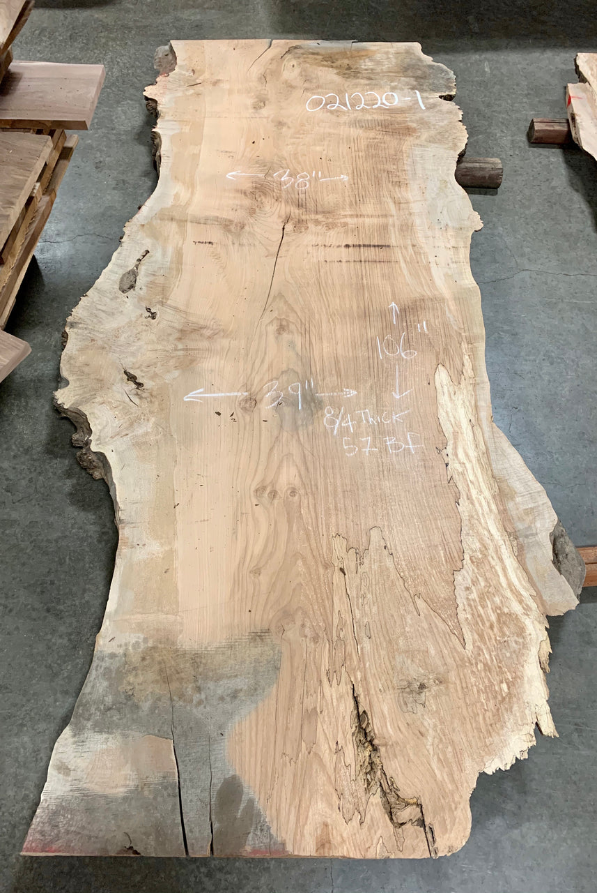 Big Leaf Maple Slab 021220-1