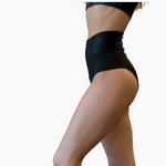 VEKKER Black Shorts (High Waist)
