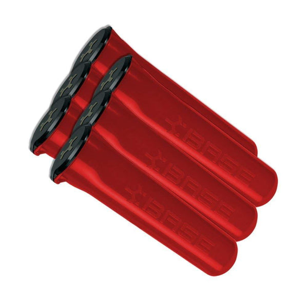 Base 150 Round Pod - Red - 6 Pack