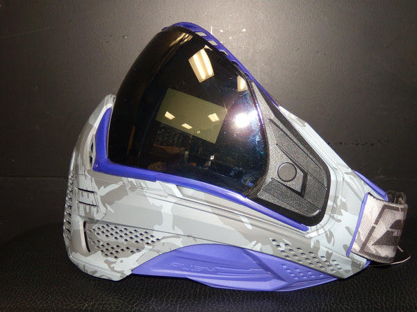 Unite Mask - Custom Grey Camo w/ Purple