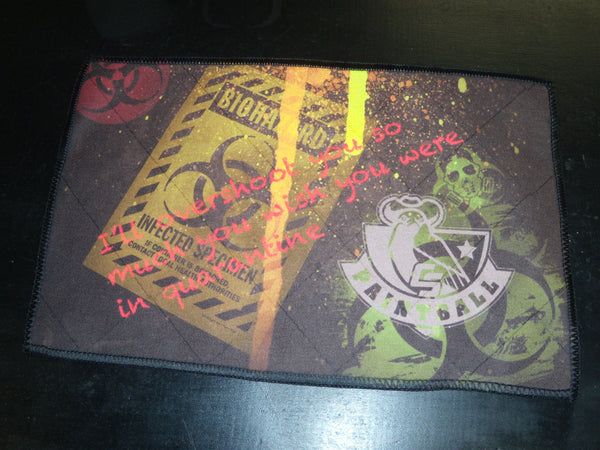 CS Custom Microfiber Cloth - Biohazard