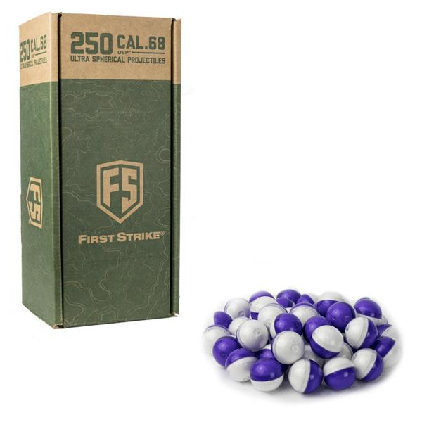 Ultra Spherical Rounds - 250 Count - Purple/Clear