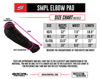 SMPL Elbow Pads - Red/Black