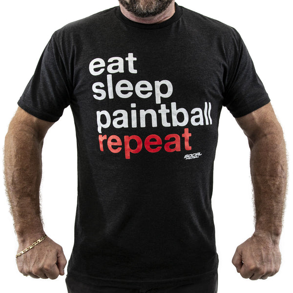 Eat Sleep Paintball Repeat T-Shirt