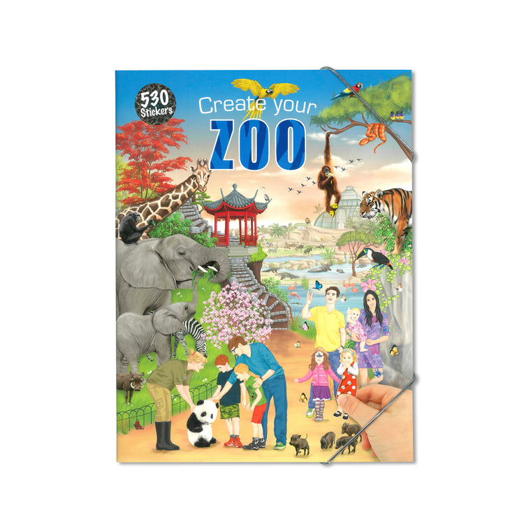 Create Your Zoo Colouring/Activity Book