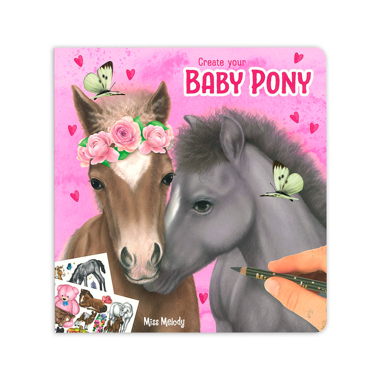 Create Your Baby Pony Colouring/Activity Book