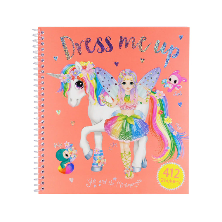Ylvi And The Minimoomis Dress Me Up Sticker Activity Book