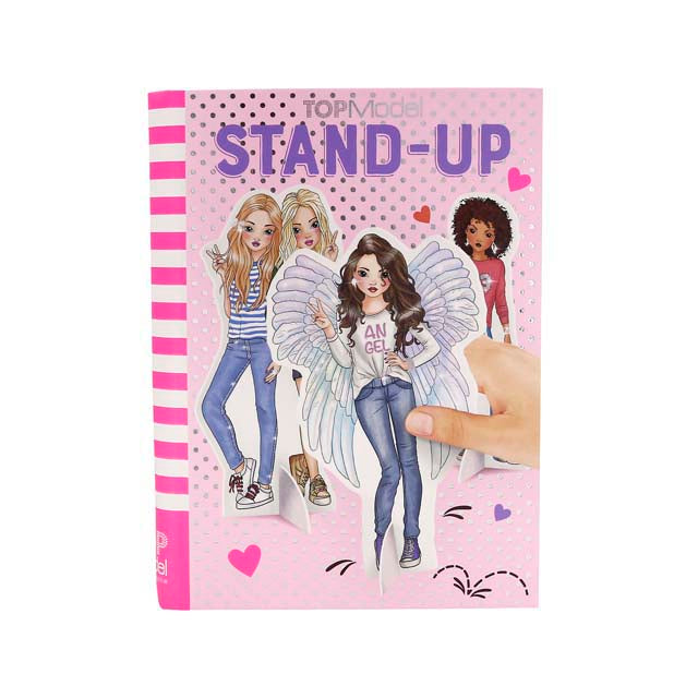Stand Up Colouring Book
