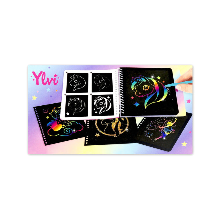 Ylvi Mini Magic Scratch Book