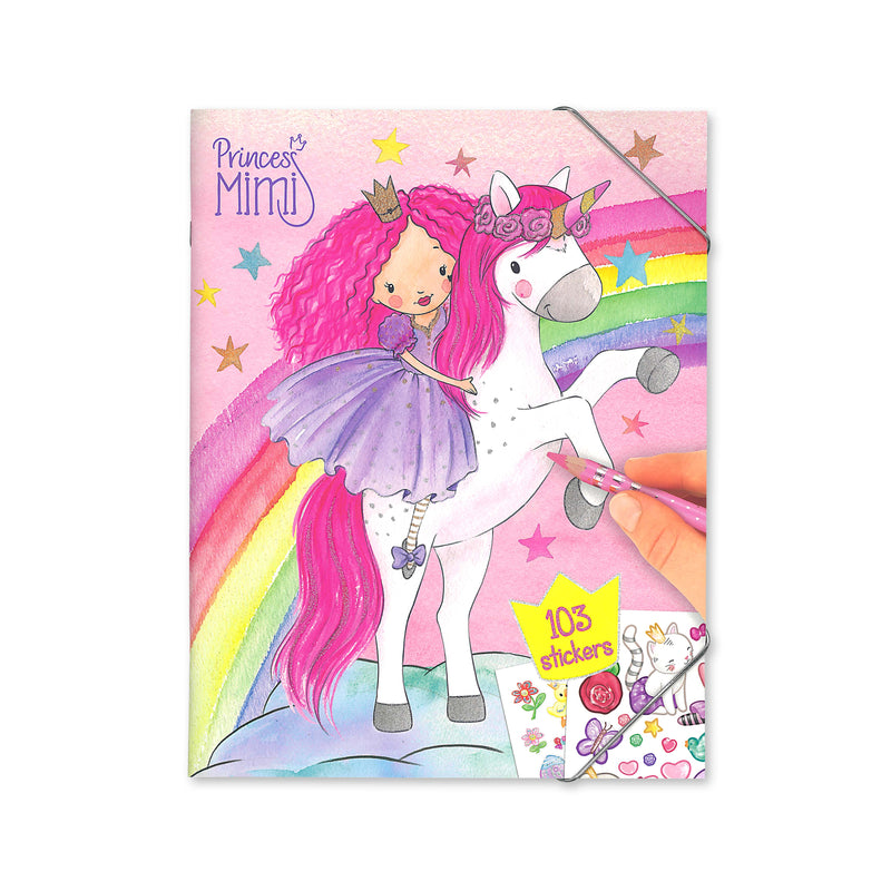 Princess Mimi Colouring/Sticker Book