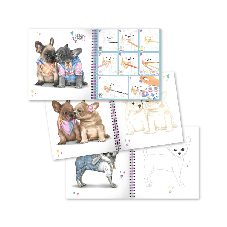 Doggy Colouring Book