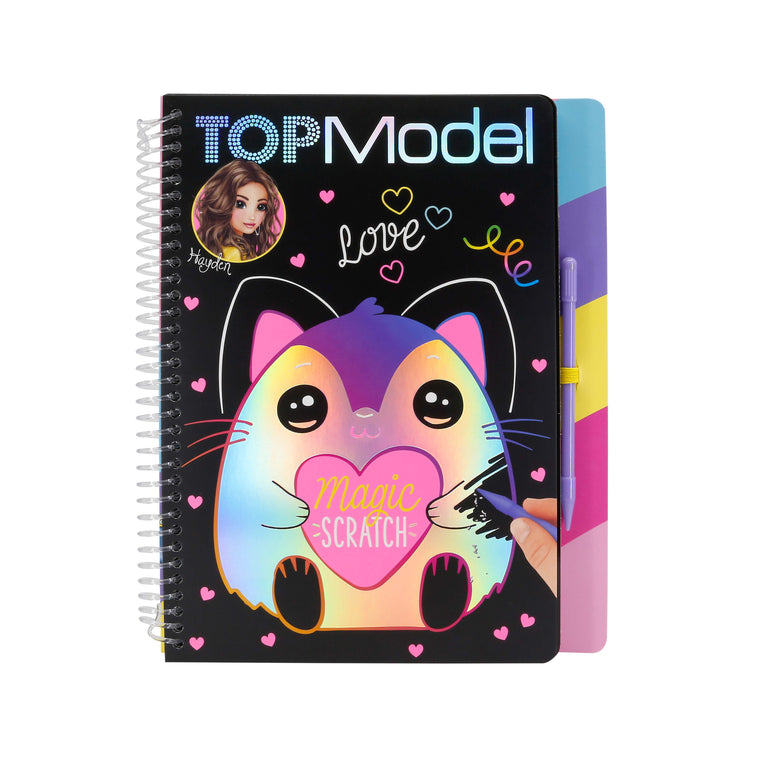 Top Model Magic Scratch Book