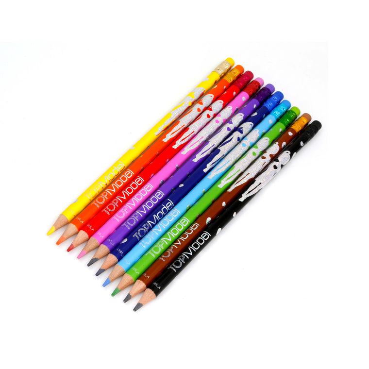 Erasable Coloured Pencil Set of 10