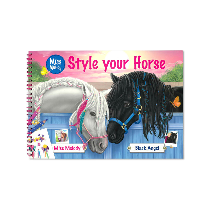 Style Your Horse Colouring/Activity Book