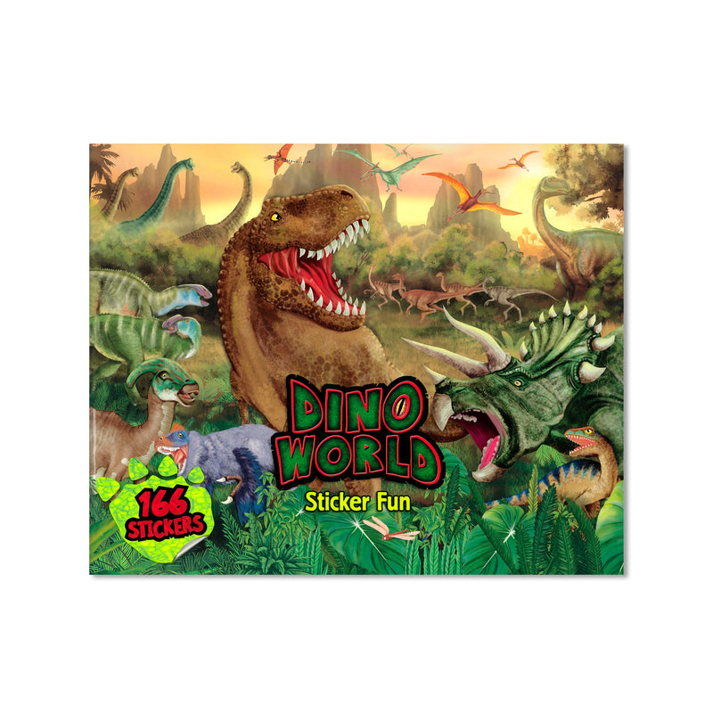 Dino World Sticker Book