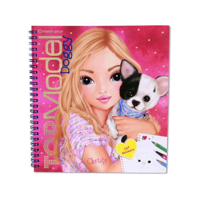 Doggy Colouring & Activity Book