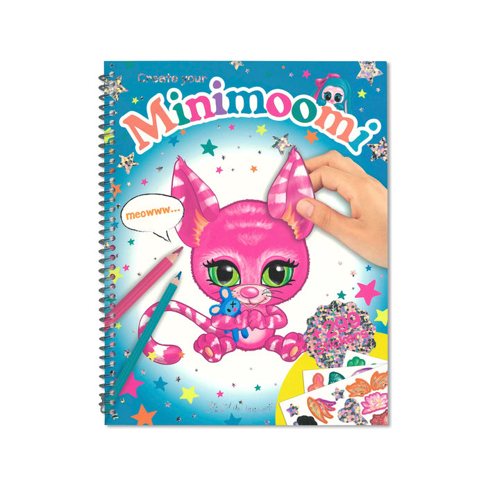 Minimoomi Sticker Activity Book